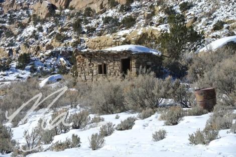 Rustic stone building