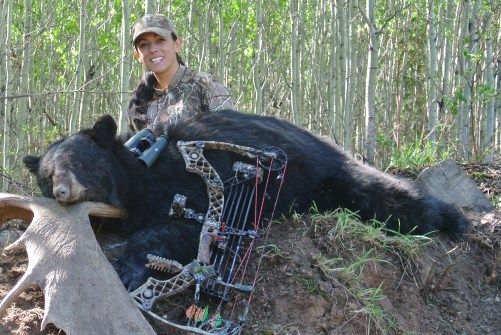 Mia Anstine black bear wp feature image mathews archery