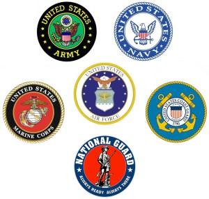 P&Yunited-states-military-logos