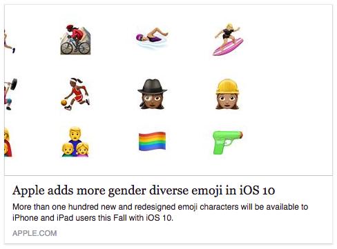 Apple-emoji-change-pistol-diversity