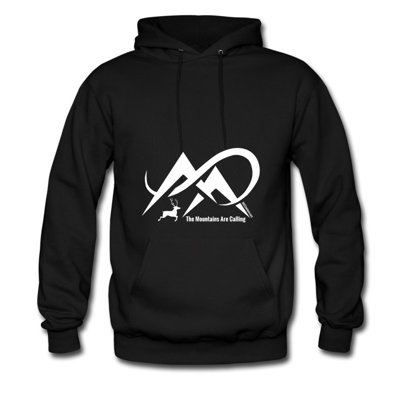 elk-the-mountains-are-calling-white-logo-men-s-hoodie