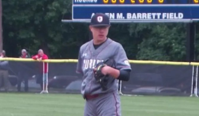 Brown's 10th inning home run wins playoff opener for Curley