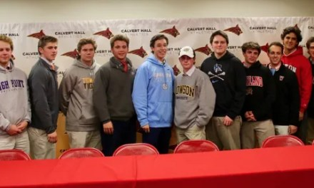 Thirteen Cards sign for men's lacrosse