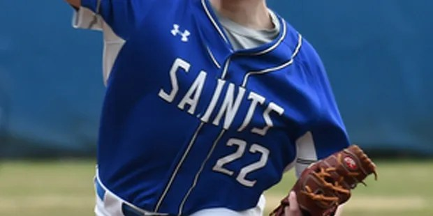Kenealy sparks Saints with three hits and pair of RBI's