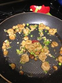 Add Green Garlic