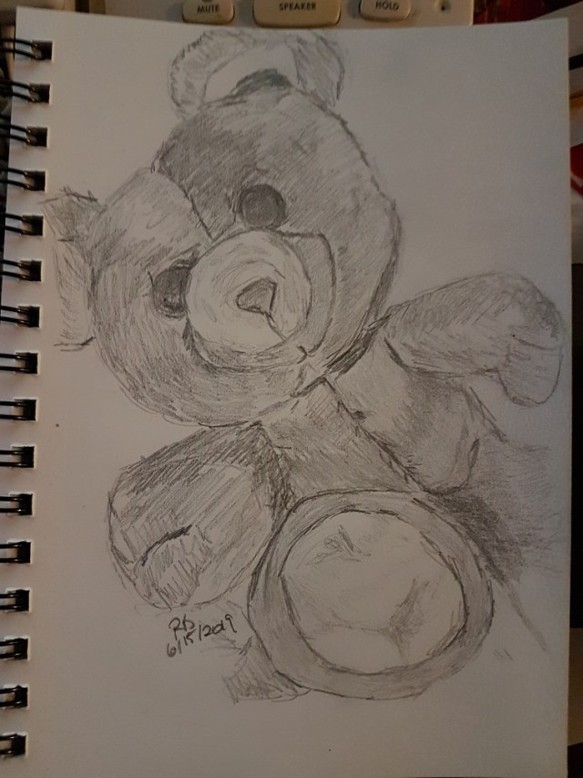 Drawing of Teddy Bear