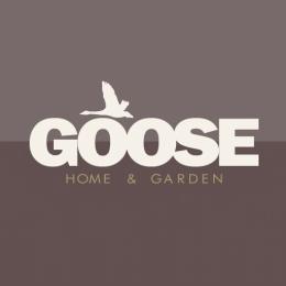 goose logo brown