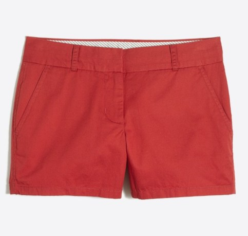 jcrew factory chino shorts