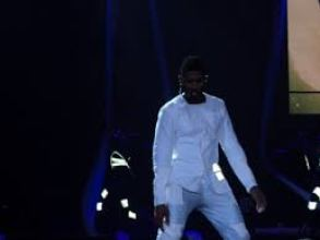 Usher Omg Tour White Coat