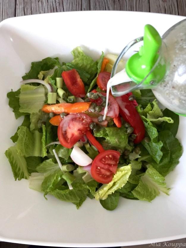 Tahini salad dressing  (Σως ταχινιού για σαλάτα)