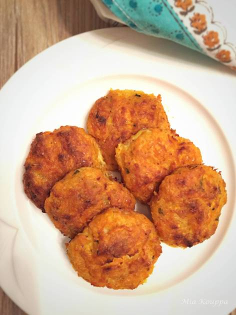 Baked Squash Fritters