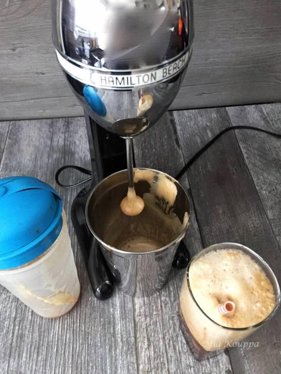 Greek frappe coffee