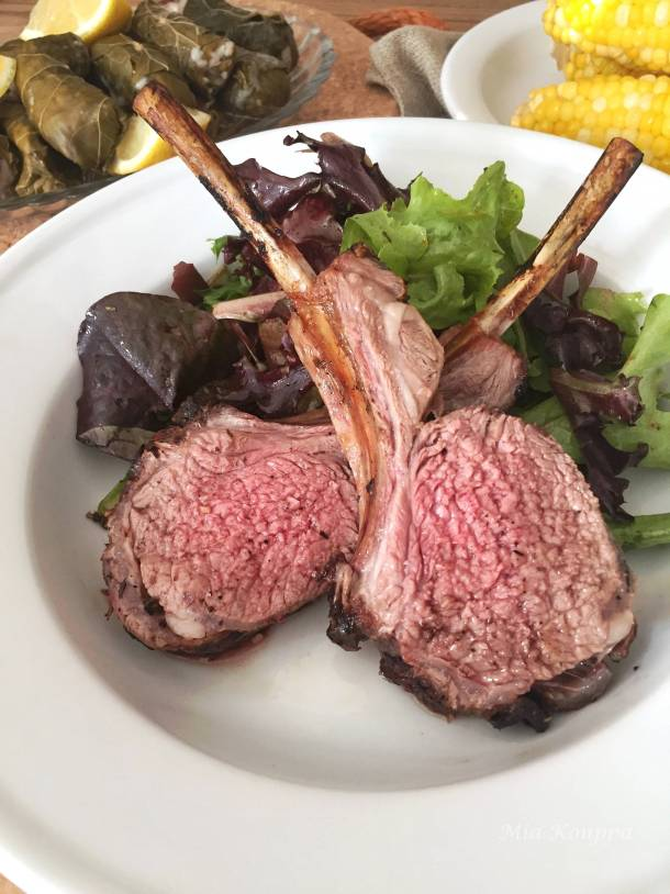 Greek rack of lamb recipe