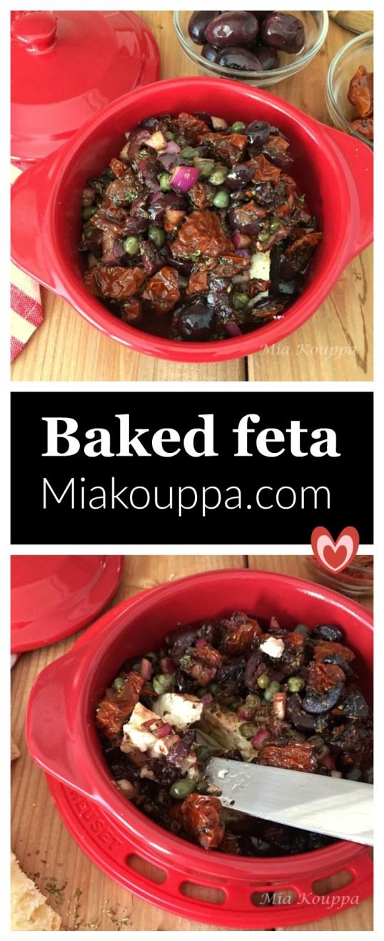 Baked Feta (Φέτα στο φούρνο)