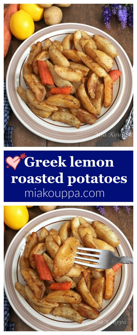 Roasted lemon potatoes ( Πατάτες λεμονάτες στο φούρνου)