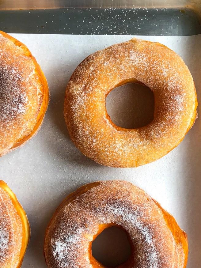 Sugar doughnuts