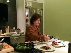 Cooking class at Appetite for Books