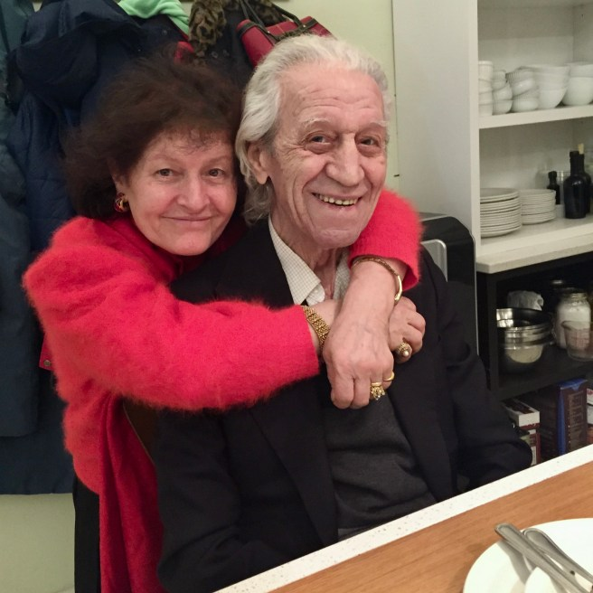 Elias's mom and dad