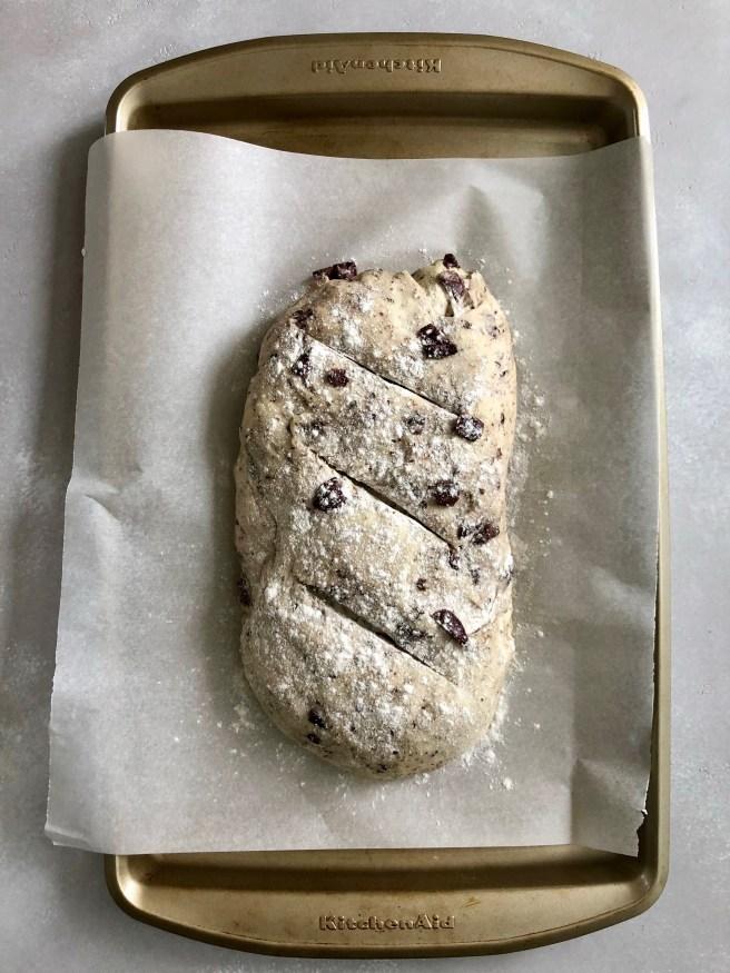 Easy Greek olive and oregano bread