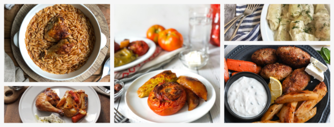 A compilation of 10 traditional Greek meals for anyone interested in cooking Greek food.