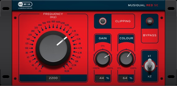 MIALABORATORIES Musiqual RED SE-DISPLAY-01