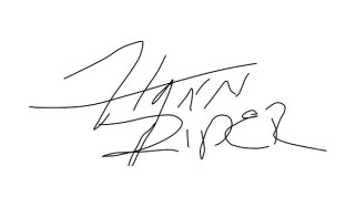 Flynn Rider's Digital Signature