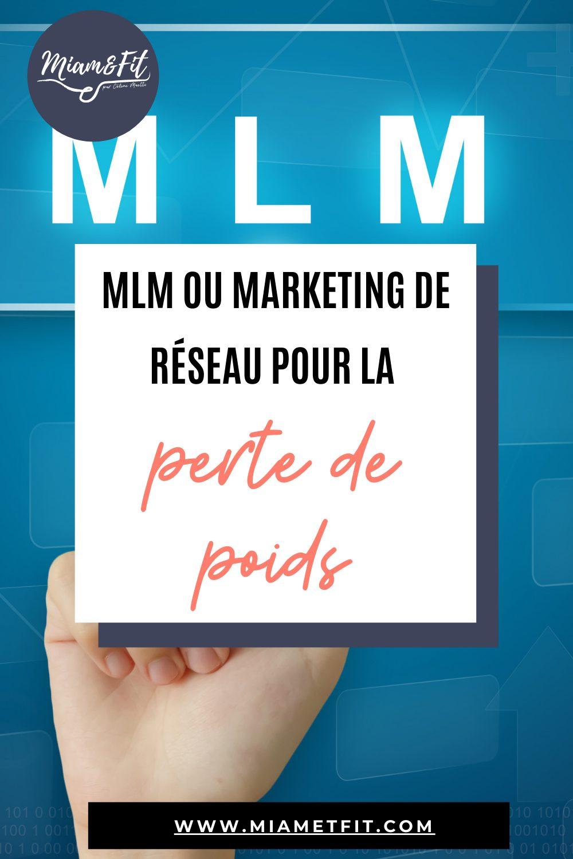 MLM ou marketing de réseau ou le marketing à paliers multiples pour la perte de poids