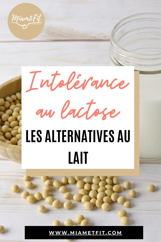 Intolérance au lactose : les alternatives au lait