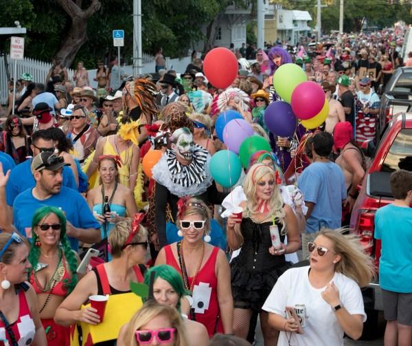 Fantasy Fest Gets Underway In Key West