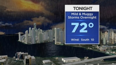 Miami Weather: Isolated Thunderstorms Expected Saturday Evening