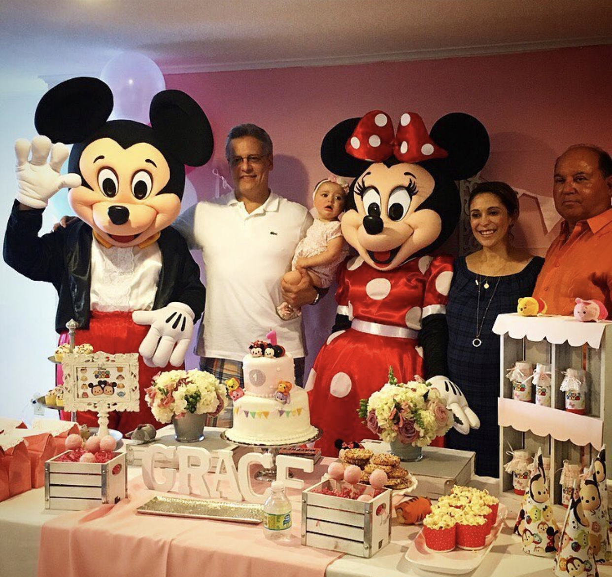 Mickey And Minnie Mouse Birthday Party Visit Party Princess Productions Miami