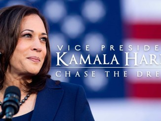 Vice President Kamala Harris: Chase the Dream is available on Amazon Prime.