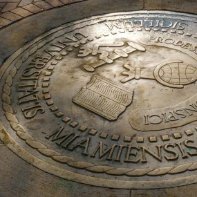 The Great Seal is featured by the Miami University Alumni Association (MUAA) with its annual official commemorative ornament.