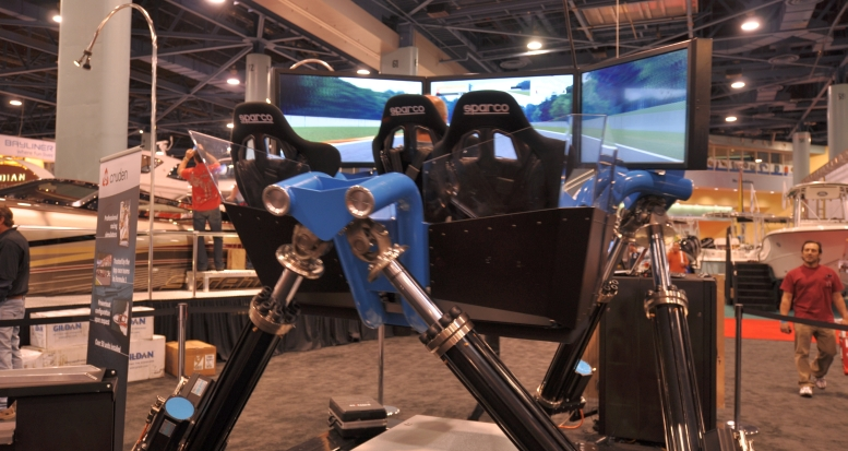Miami Beach Boat Show Hexatech IV 3CTR Model @ Cruden.com