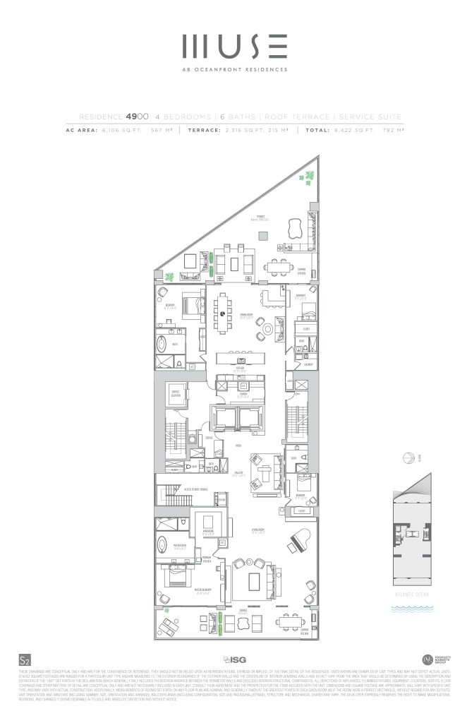 MUSE Penthouse 49 Floor Plan