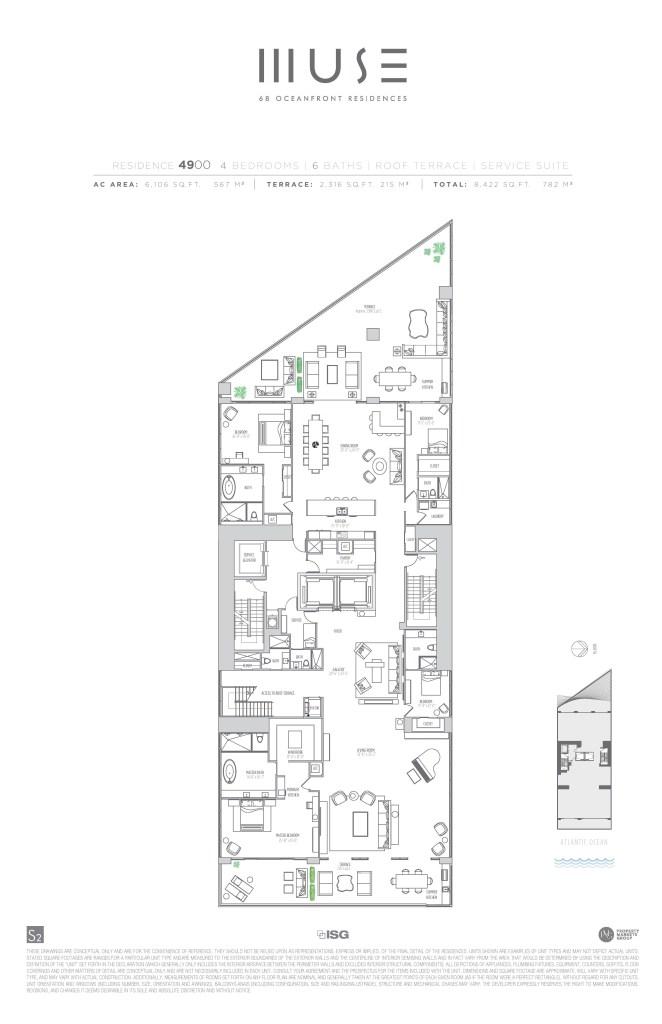 MUSE Penthouse 49 Floor Plan