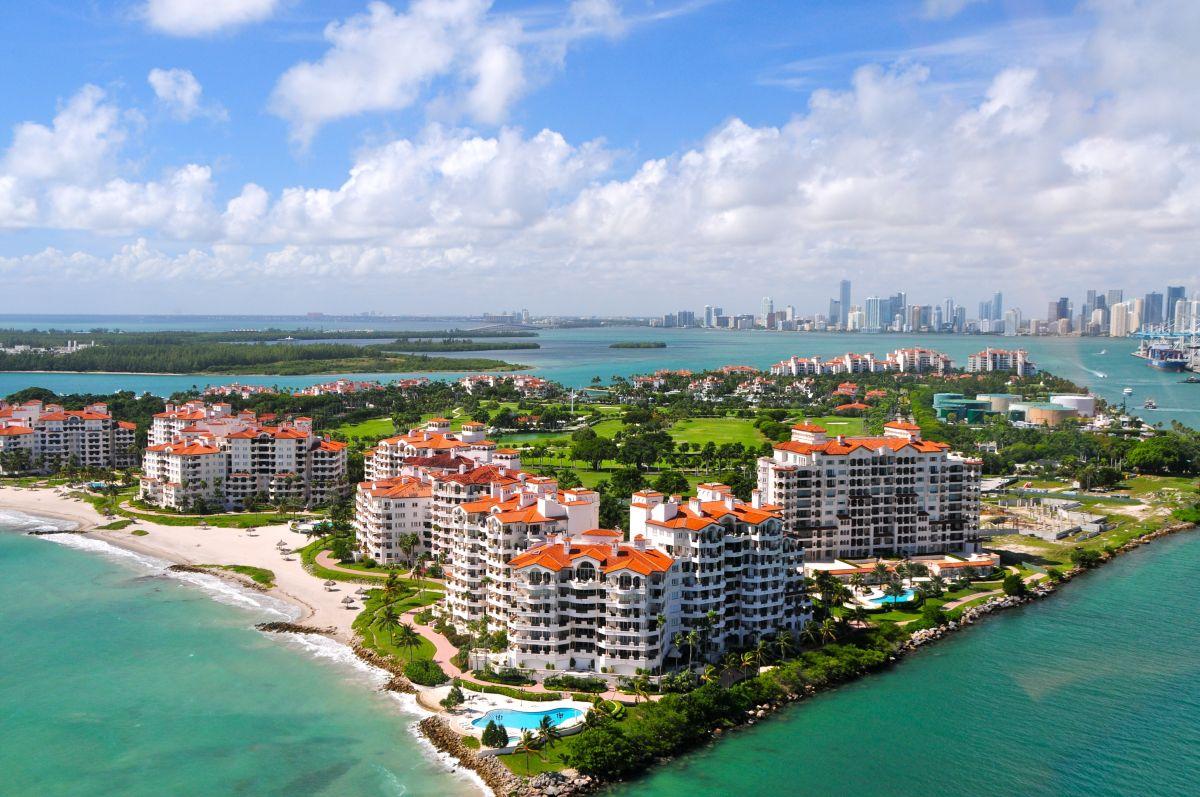 Fisher Island Downtown Miami