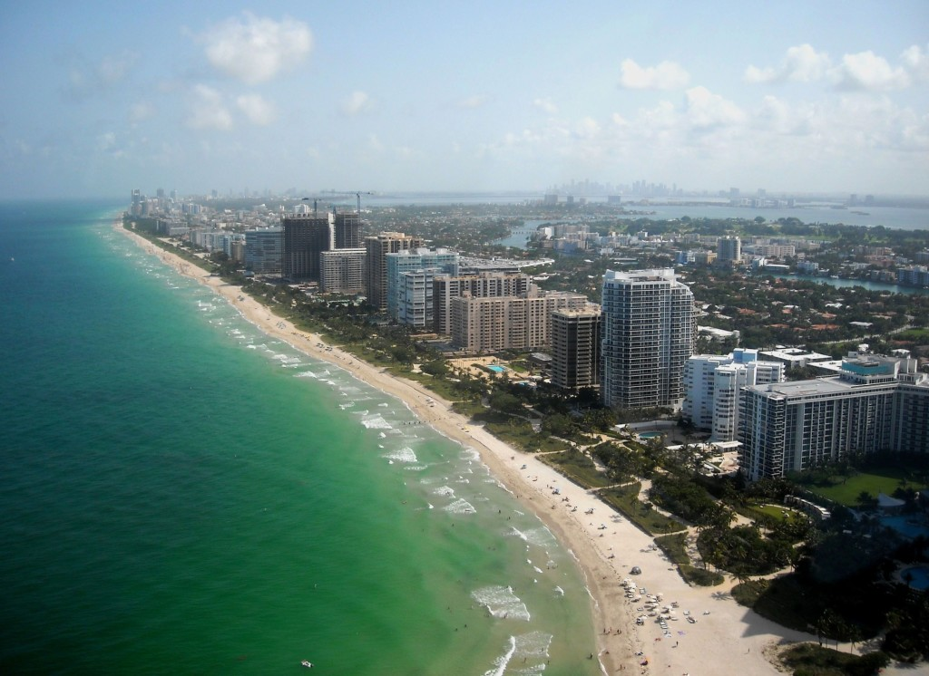 Bal Harbour Florida Aerial