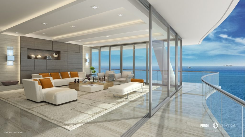 FENDI Chateau Surfside Miami Condos