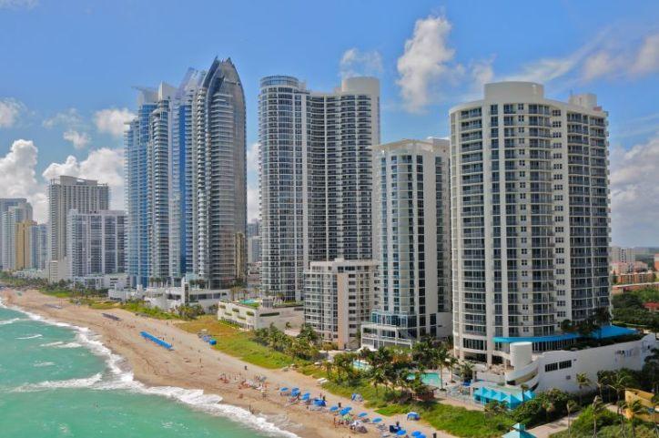 Sunny Isles Beach Miami Coastline