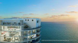 Rendering of the Porsche Design Tower penthouse that sold for $25 million via Metrostudio, LLC
