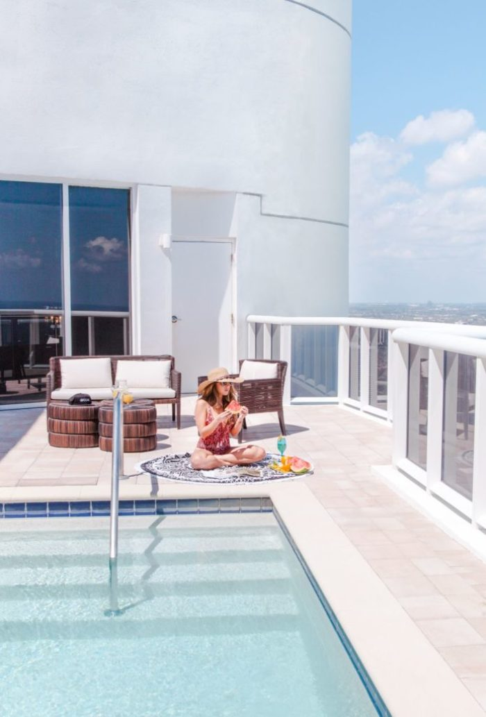 ONE Sotheby's International Realty Tower Suite 06 Trump Royale Sunny Isles Beach Lifestyle Shoot