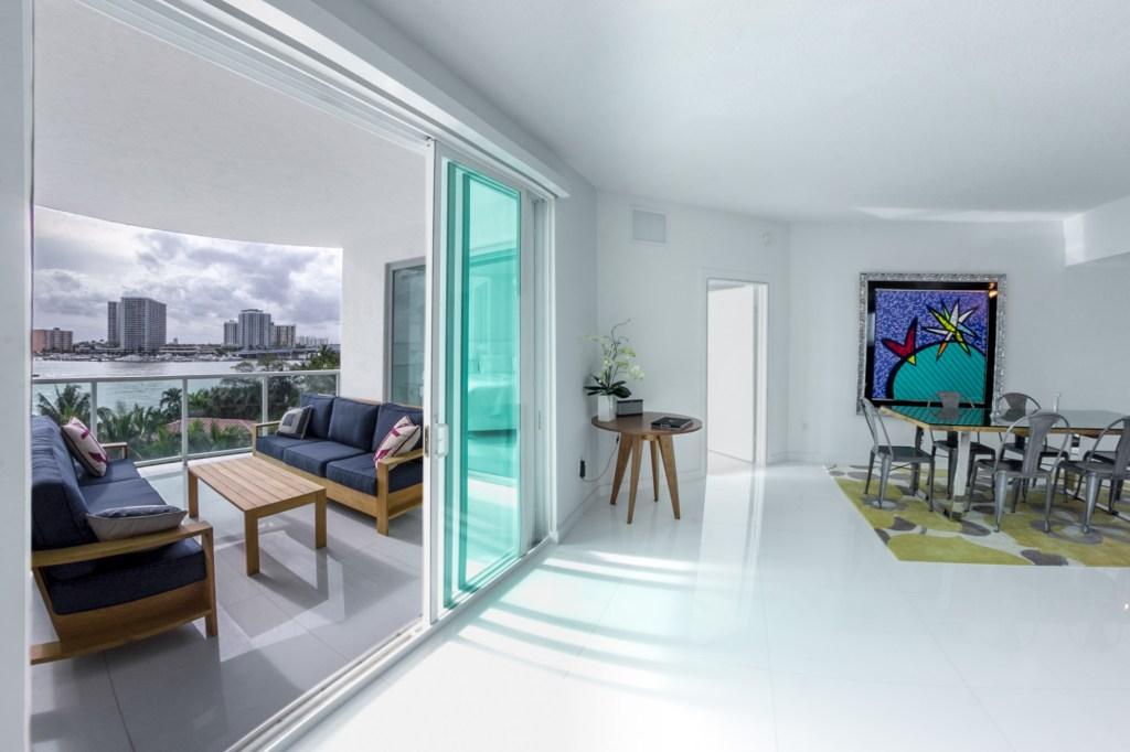 Baylights Penthouse 2 Miami Beach Florida