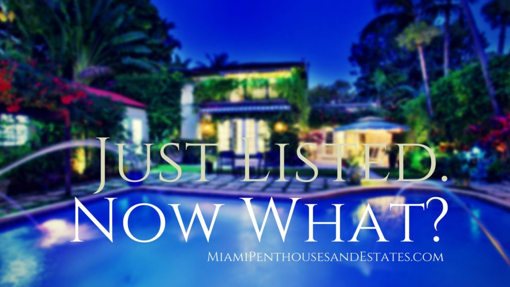 Just Listed Now What Miami