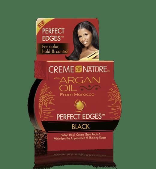 Creme of Nature Argan Oil Perfect Edges Black - 2.25 oz