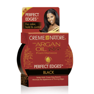 Creme of Nature Argan Oil Perfect Edges Black - 2.25 oz
