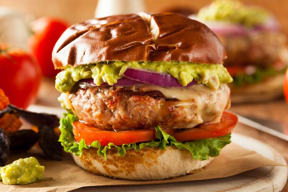 Turkey Burgers Miami Beef