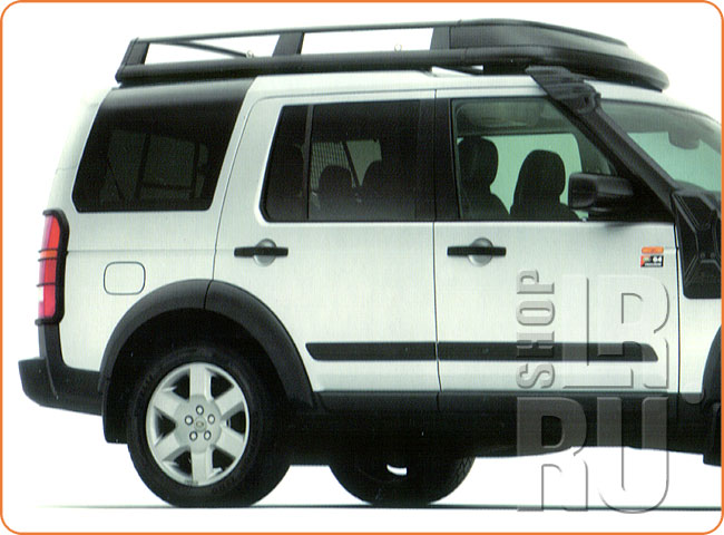 land rover lr3 lr4 expedition roof rack assy cab500021pma genuine
