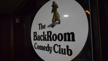 Hidden Hilarity at the Backroom Comedy Club