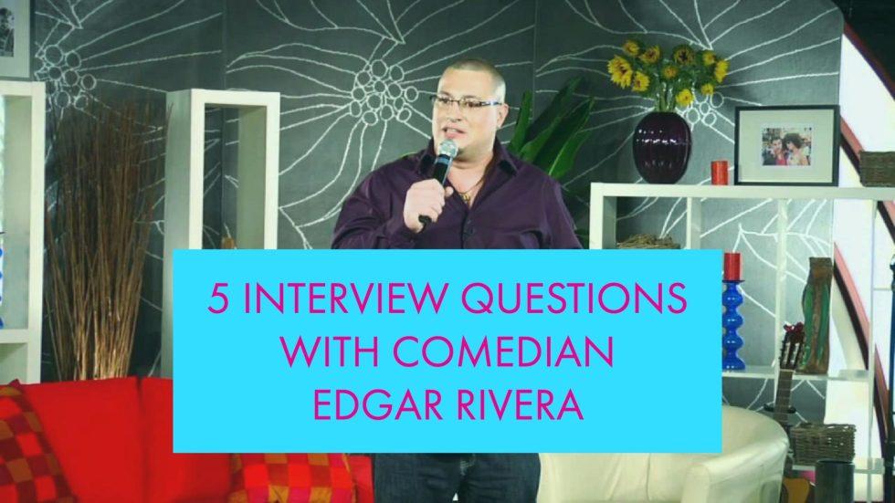 Comedian Edgar Rivera